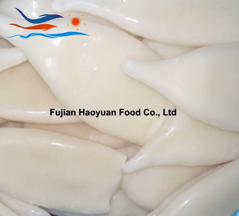 Exporting Frozen Seafood Squid Tube