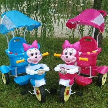Plastic Carton Children Tricycle Kids Baby Trike Tricycle