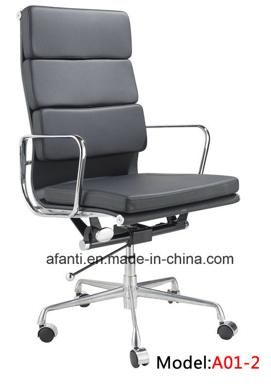 Modern Office Furniture Aluminum Eames Swivel Executive Manager Chair (RFT-A01)