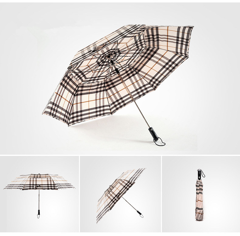 Two Folding Stripe Umbrella