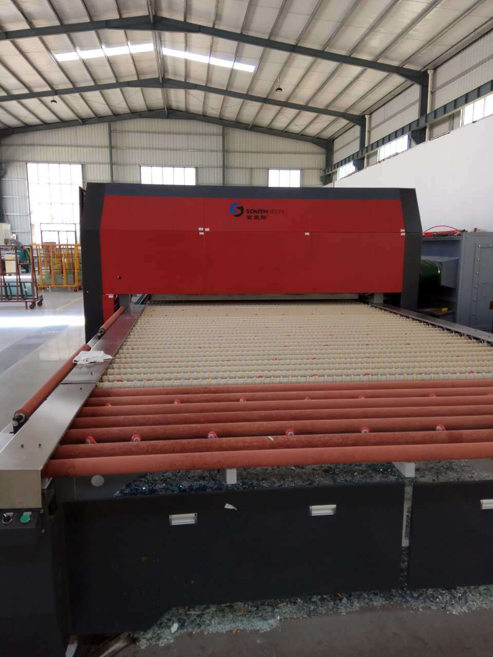 Southtech Double Flat Glass Tempering Furnace (TPG-2)