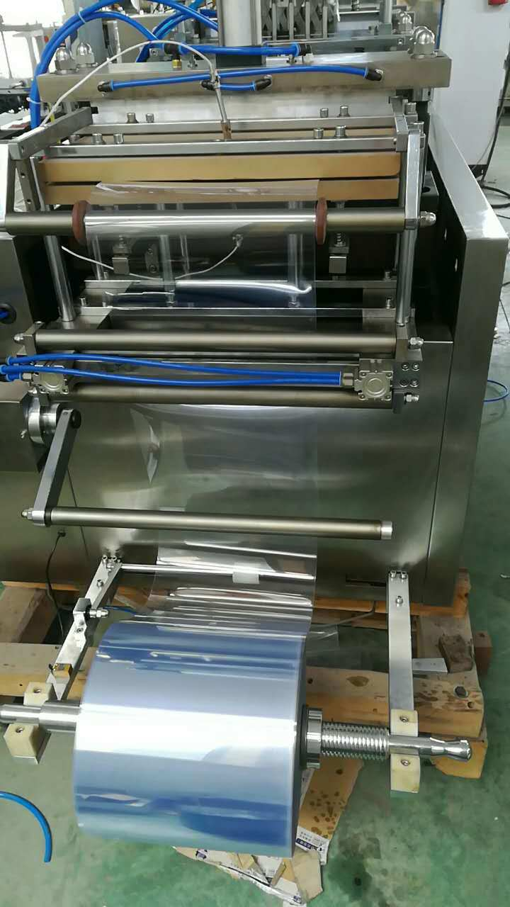 Cleaning Balls/Pencils/Lipstick Sealing PVC Packing Machine with Chain