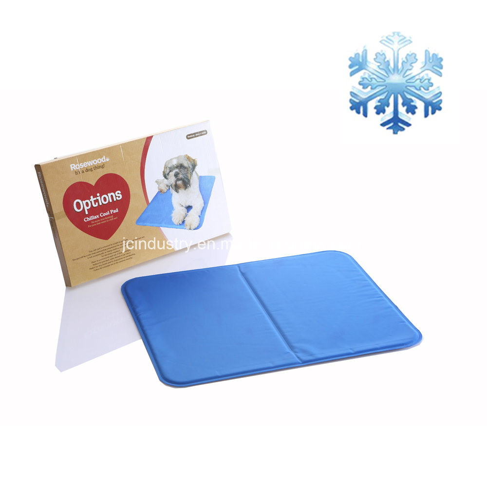 Waterproof Logo Printing Pet Cool Gel Mat