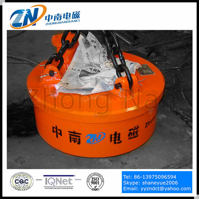 Circular Manual-Discharging Magnetic Separator for Ferror Material Separation Mc03
