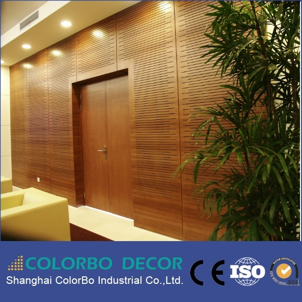 Indoor Decoration Materials Wooden Timber Acoustic Wall Panel