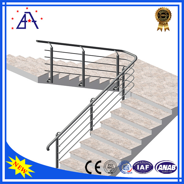 OEM Factory Wholesale Anodized Black Aluminium Fence/Handrails/Fencing
