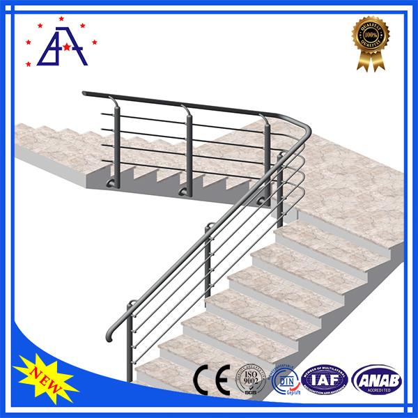 OEM Factory Wholesale Anodized Black Aluminium Fence/Handrails/Fencing
