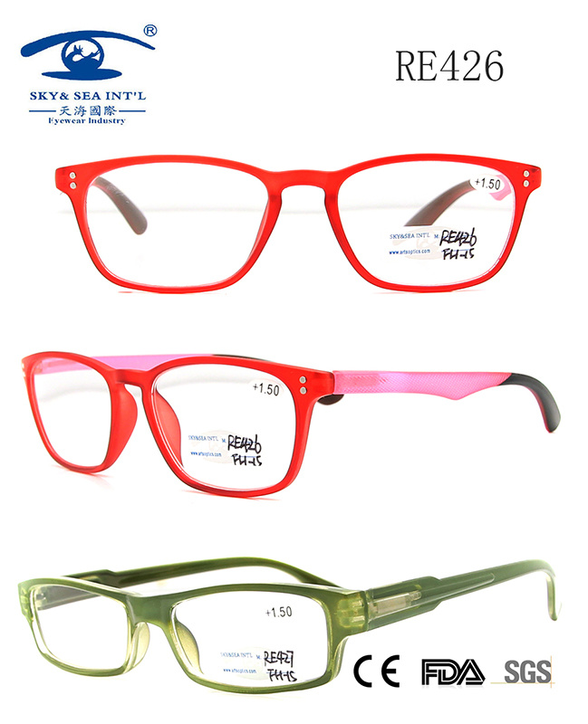 CE FDA Certificates New Models Reading Glass (RE426)