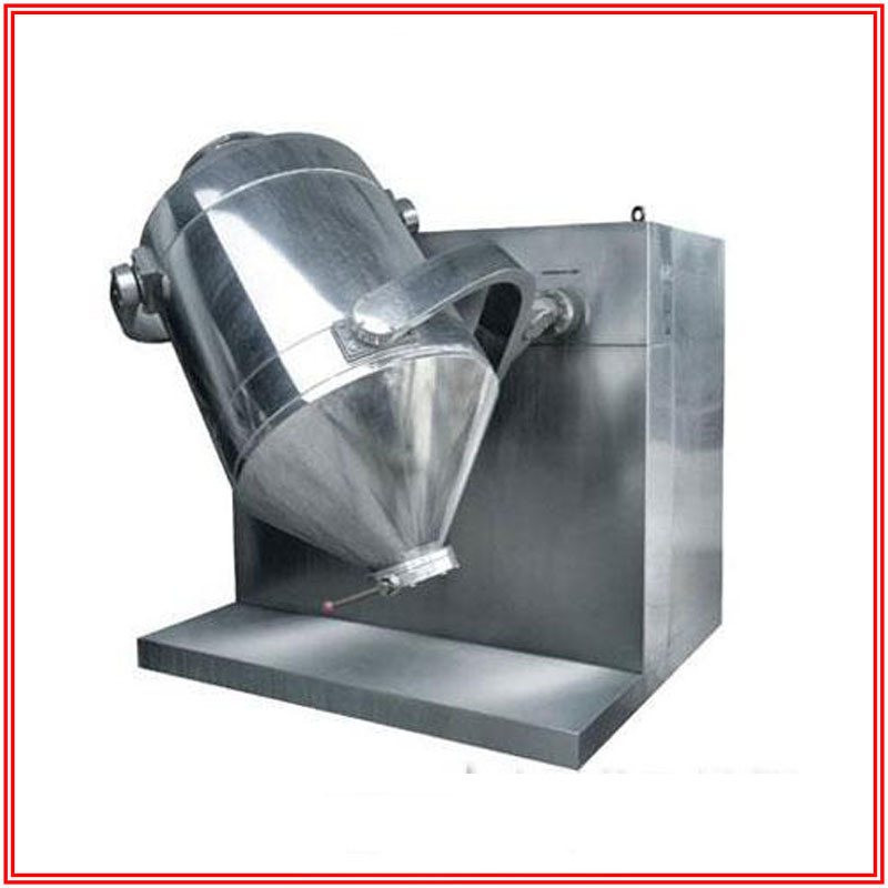 Three Dimensional Mixer for Mixing Chemical Powder