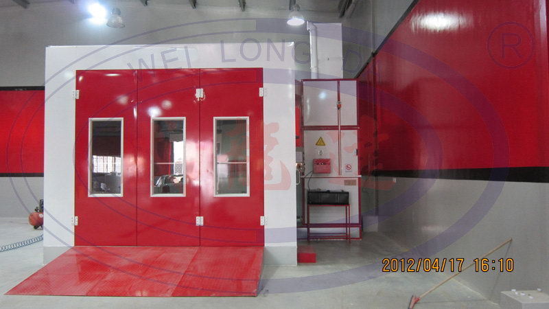 Wld8400 Waterborne Car Spray Paint Booth