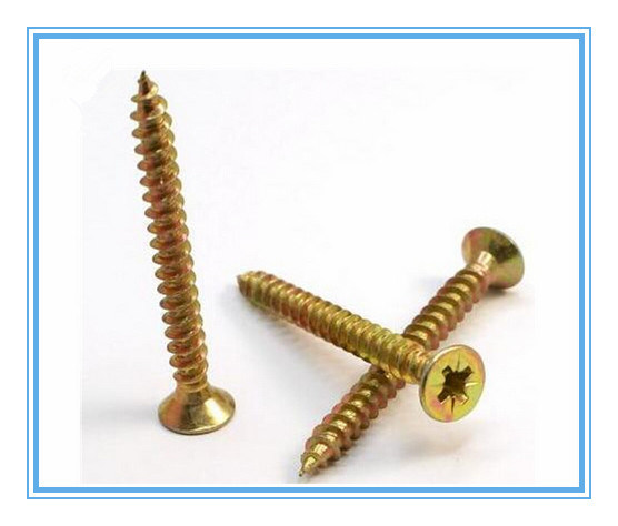 Bugle Head Cross Self Tapping Drywall Screw with Black (DIN7505)