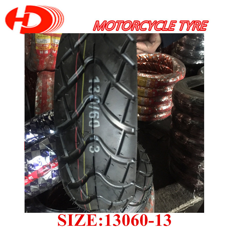 Factory Supplier Motorcycle Tyre/Tirewith DOT ECE Inmetro Bis 130/60-13