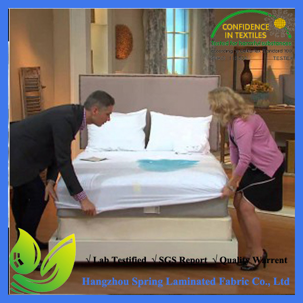 Waterproof Terry Cotton Mattress Protector with Elastic Band