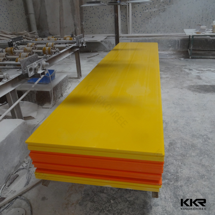 Kingkonree Resin Stone Price Acrylic Solid Surface Corian