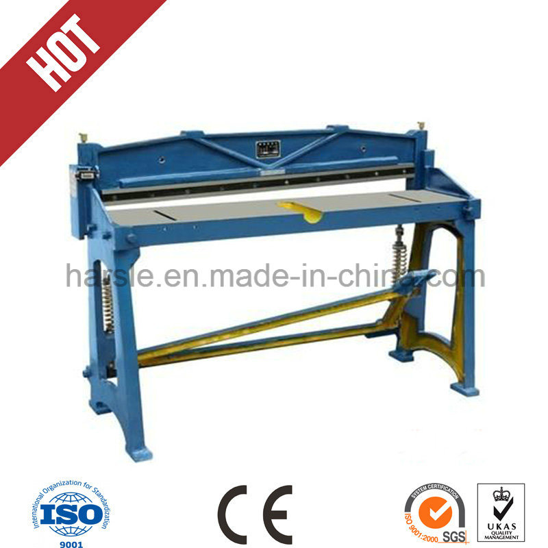 Q11 Foot Pedal Shearing and Cutting Machine for Metal Sheet