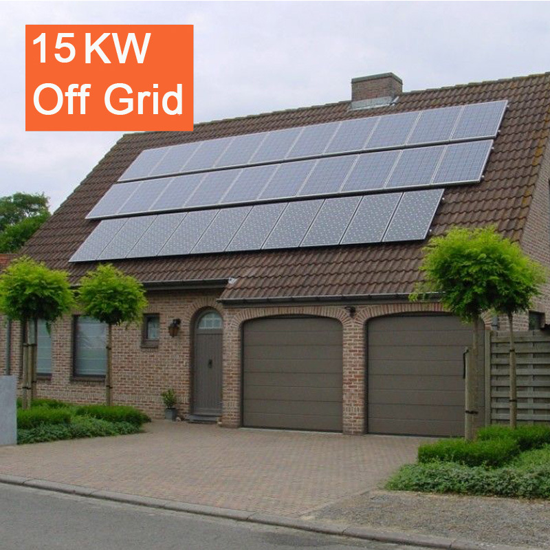 Complete Set of 15kw off Grid Solar System