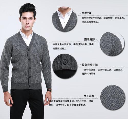 Yak Wool Sweaters /Yak Cashmere Sweaters/ Knitted Wool Sweaters