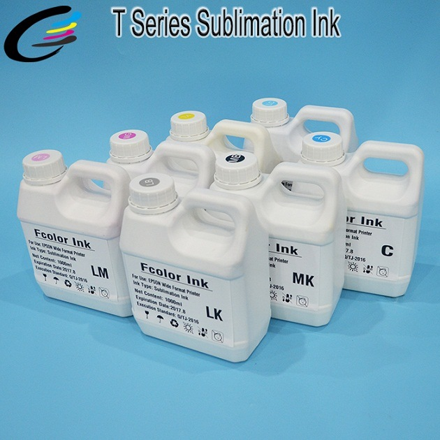 1000ml Inkjet Printer Sublimation Ink for Epson Surecolor T7200 T5200 T3200 Bulk Ink
