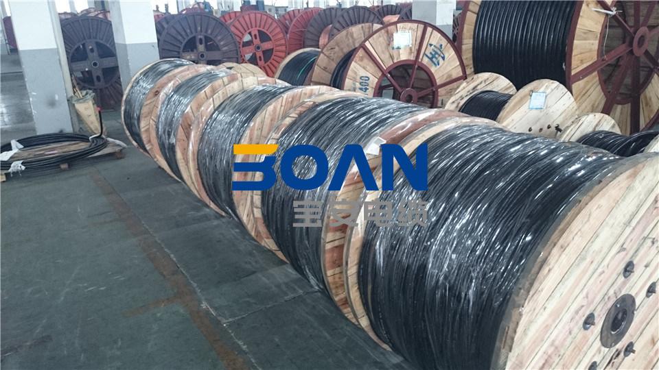 Quadruplex Service Drop Cable, AAAC Neutral, Twisted 600 V Quadruplex (ANSI/ICEA S-76-474)