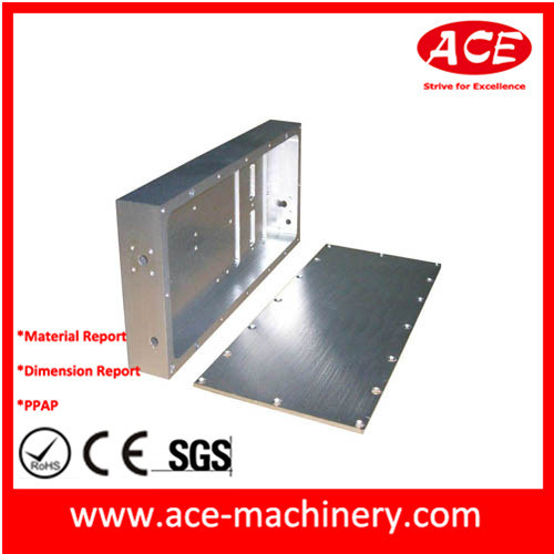 CNC Machinery Milling of Aluminum Barstock