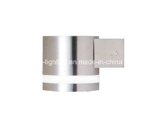Double Light Stainless Steel Outdoor Light with LED/Gx53 Lamp-Holder (AM-SS1021)