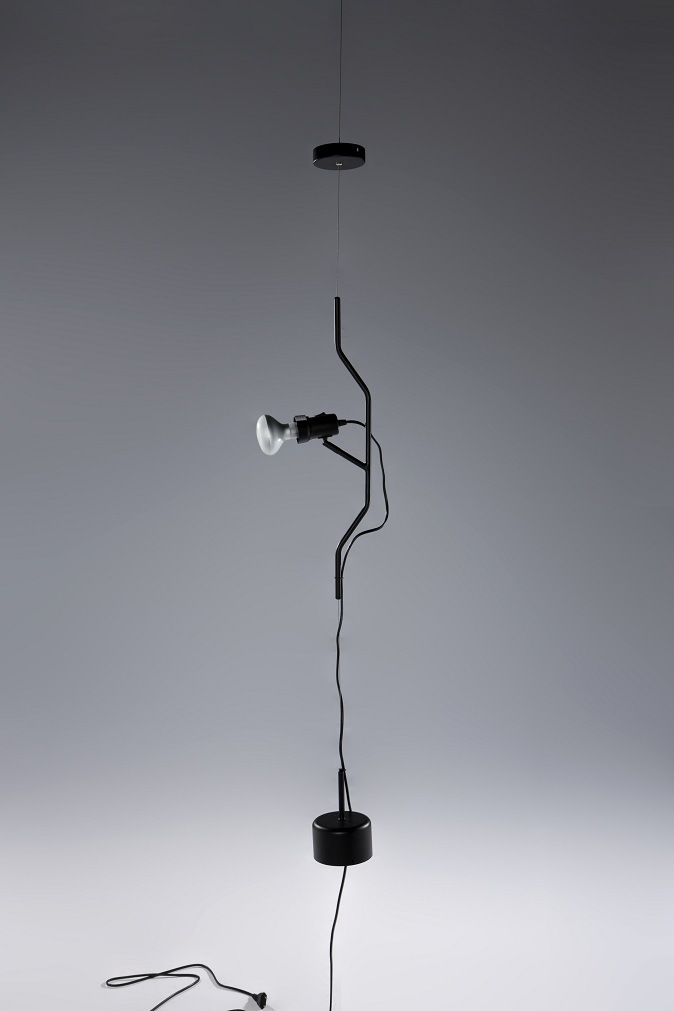 Second Half 20th Century Dimmer Suspension Lamp