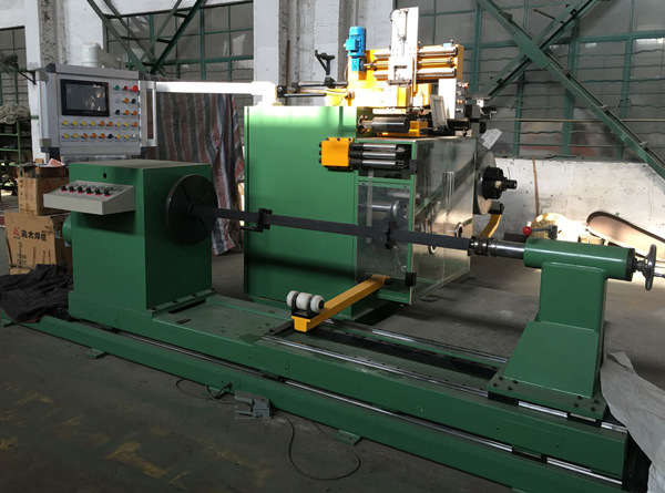 New Transformer Hv Foil Winding Machine for Hv Foil Coils Used in Dry-Type Transformers