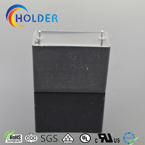 Metallized Polypropylene Film AC Motor Start Capacitor (CBB61 105UF/450V)