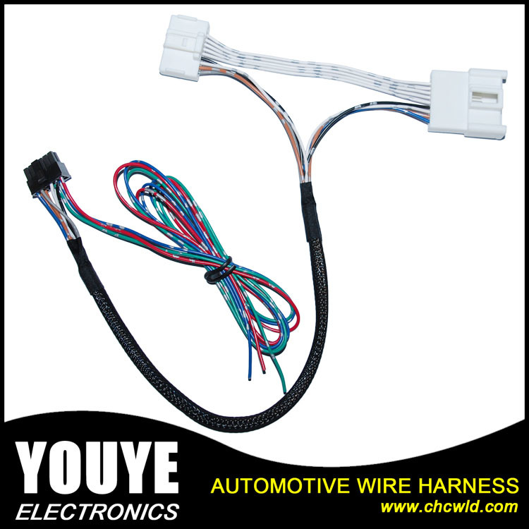 Customized Automotive Rearview Mirror Wiring Harness Cable Harness Supplies china customized automotive rearview mirror wiring harness cable wire harness supplies at eliteediting.co