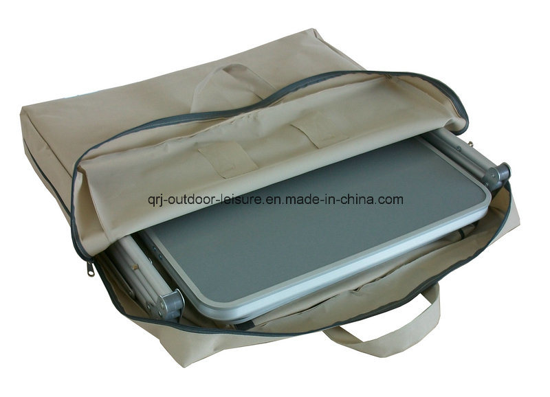 Aluminum Quality Folding Portable Storage 4 Shelf Cupboard (QRJ-G-004)