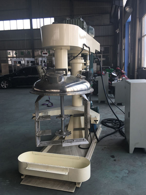 Dual-Axle Double Speeds Mixer for Putty, Adhesive, Offset Printing Ink
