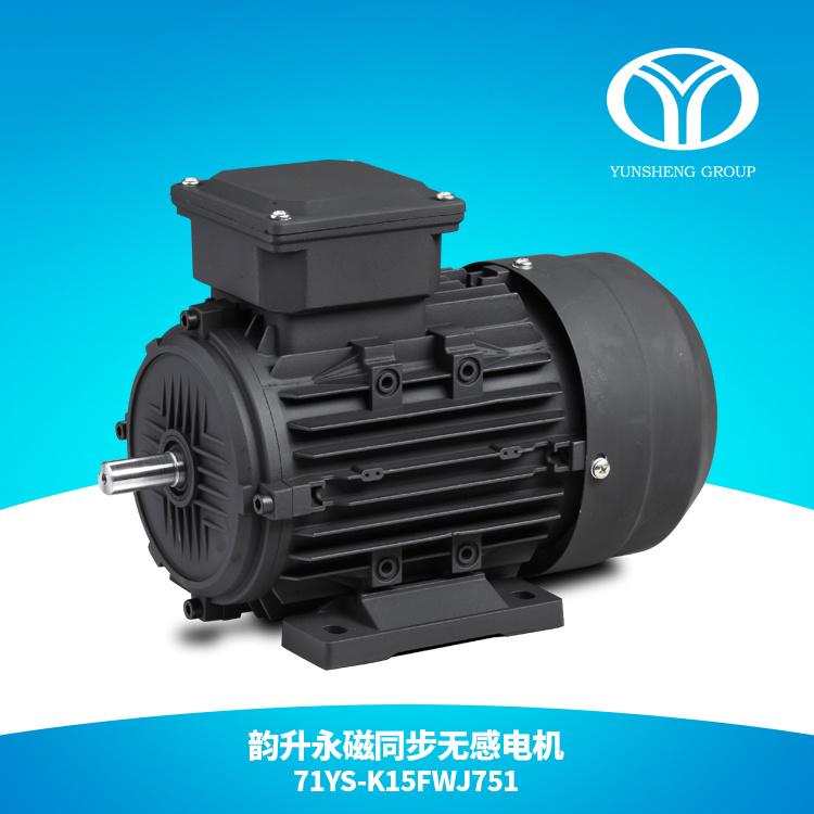 AC Permanent Magnet Synchronous Motor 0.75kw 1500rpm