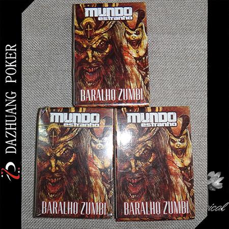Mundo Estranho Baralho Zumbi Card Game for Brazil Market