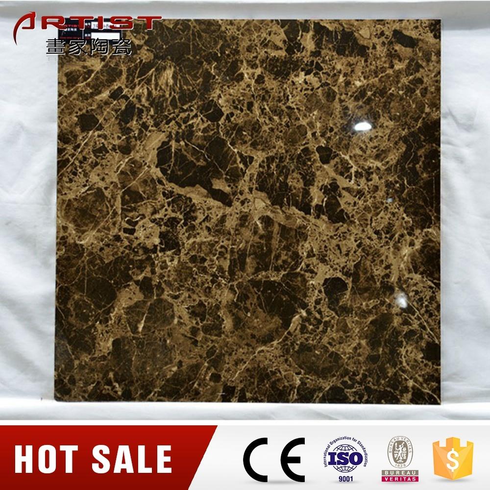 Stone Look Brown Color Porcelain Tile Indoor Tile