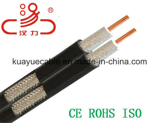 RG6 4 Shielding Coaxial Cable/Computer Cable/Data Cable/Communication Cable/Audio Cable/Connector