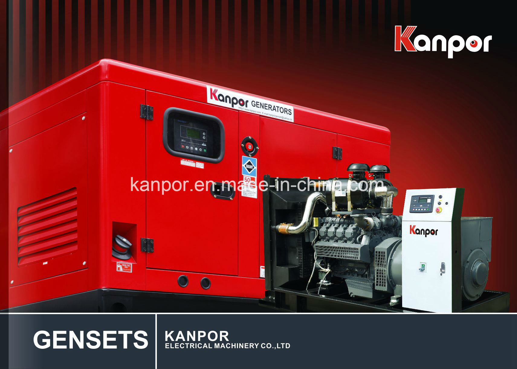 China Good Price Silent Electric Generator Kanpor Deutz 300kw
