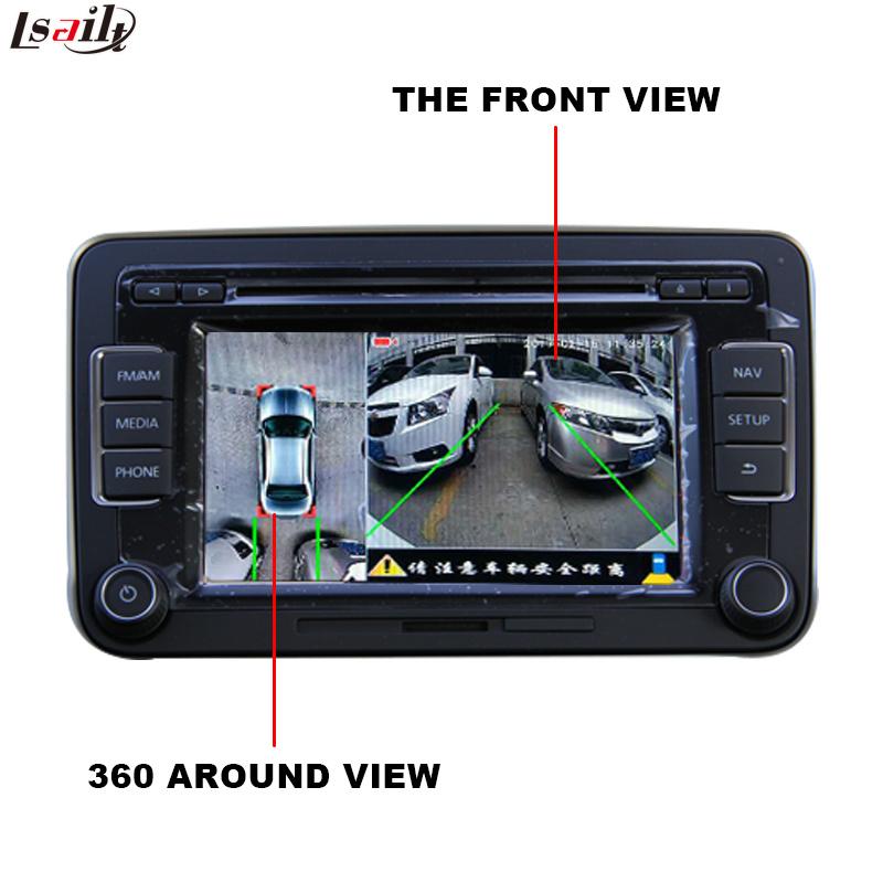 Rear View & 360 Panorama Module for VW Audi Mercedes-Benz Infiniti Honda Peugeot Citroen Mazda Porsche Ford Chevrolet Cadillac etc with HD RGB Signal Output