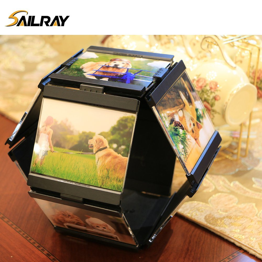 """4""""*4""""Leggy Horse Creative Acrylic PU Photo Frame/Picture Frame for Home Decoration (10 piece set)"""