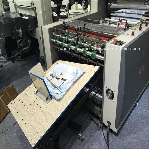 High Quanlity Semi Automatic Hydraulic Paper Roll/Pre-Glue/Glueless BOPP Film/Thermal/Hot Lamination Machine (Laminator)