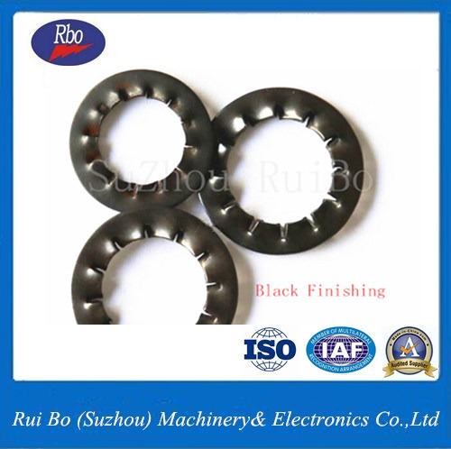 Stainless Steel DIN6798j Internal Serrated Lock Steel Spring Washer