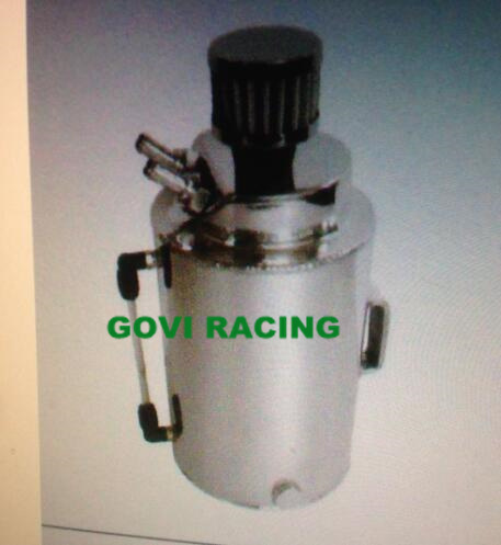 2L Aluminium Oil Catch Can Fuel Tank with Breaher Air Filter