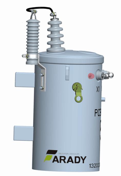 13.2kv 10kVA Oil Immesed Pole Mounted Single Phase Csp Transformer