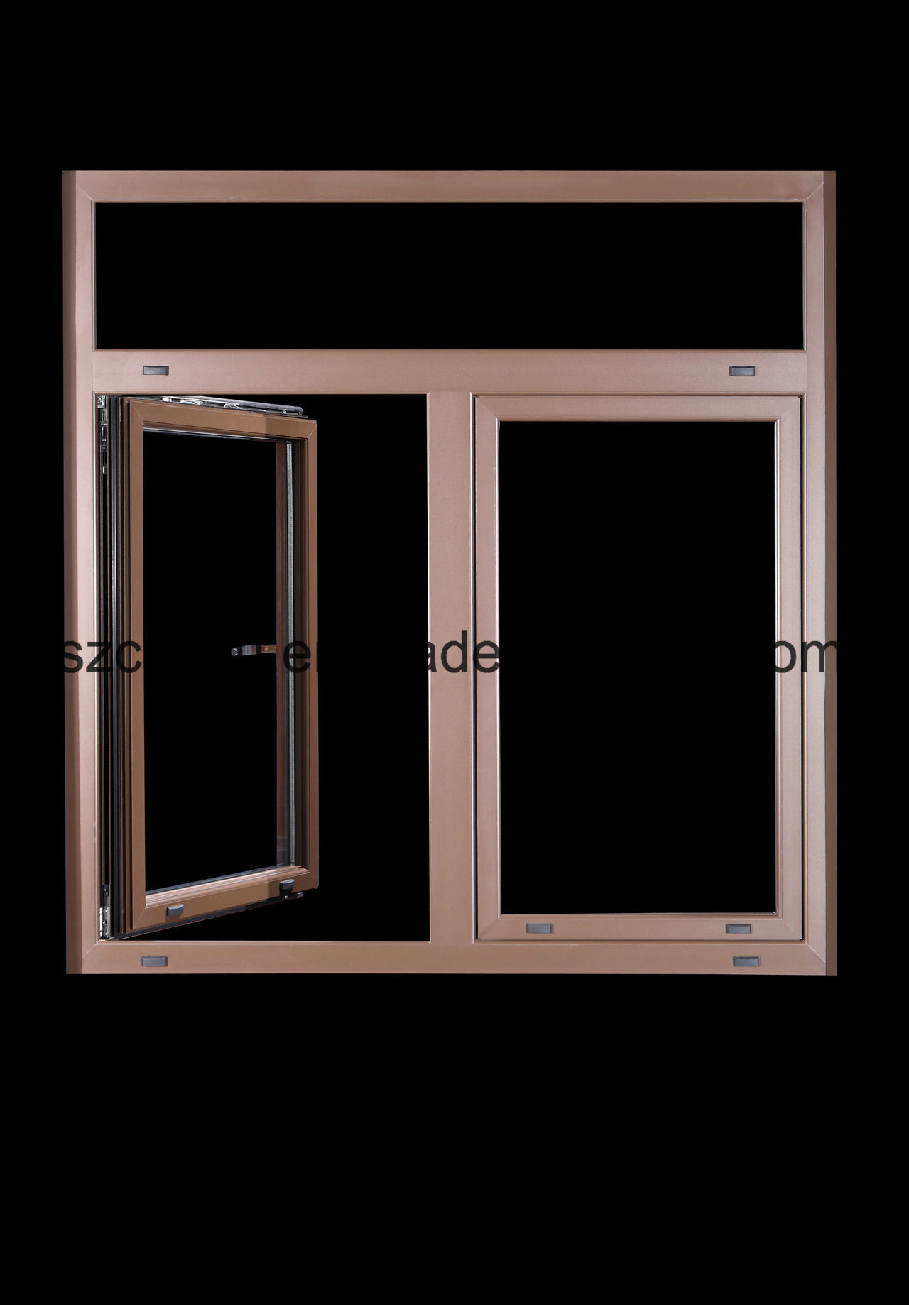 Hot Sale Aluminum Clad Wood Window