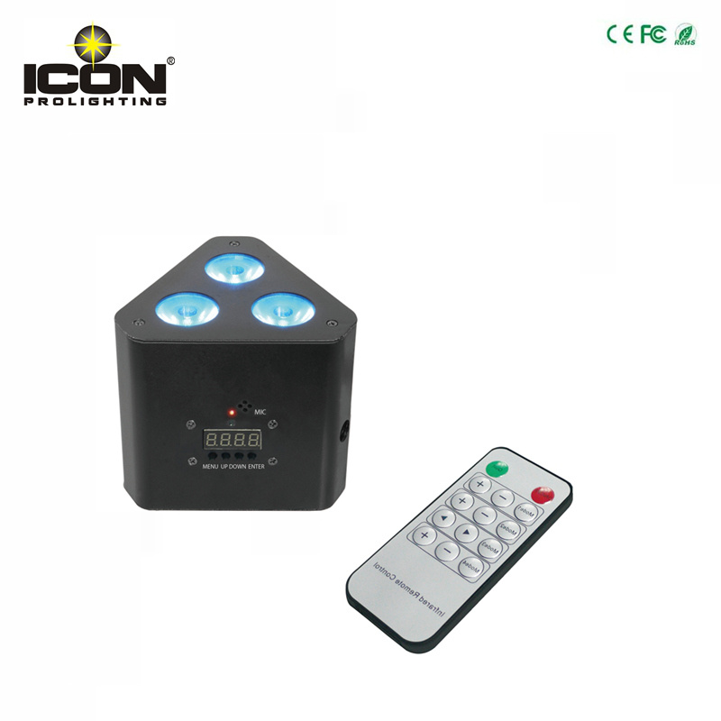 Remote RGBW LED Uplight for Party
