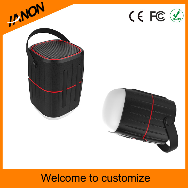 3-in-1 Rechargeable LED Camping Lantern with Bluetooth Speaker Power Bank8800 mAh