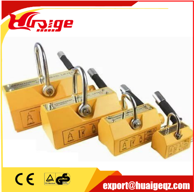 Heavy Duty Flat Stock Permanent Magnetic Lifter Lifting Magnets