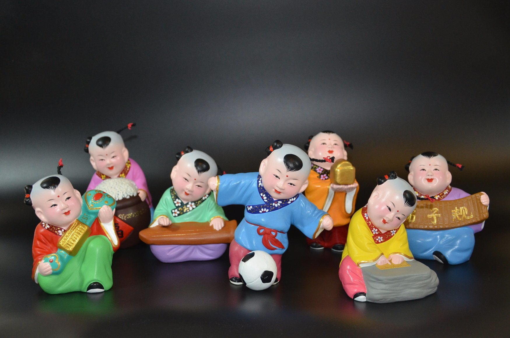 Lively Collection of Trational Chinese Baby