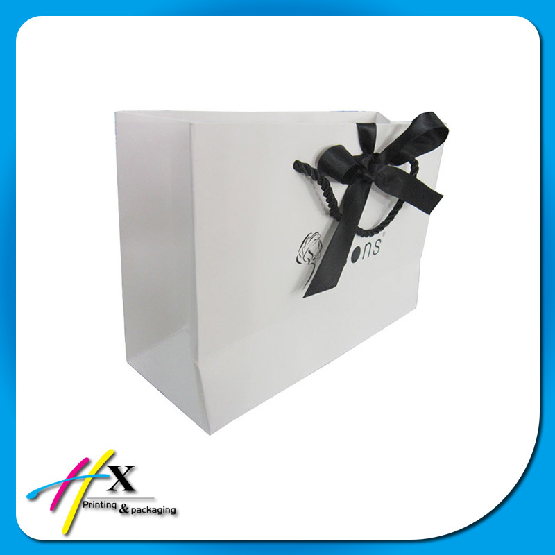 White Printing Paper Bag for Clothes