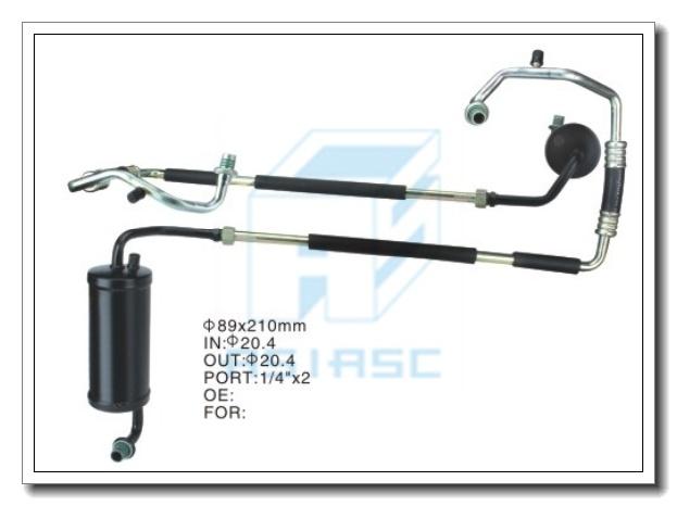 Accumulator for Auto Air Conditioner Part (Steel) 89*210mm