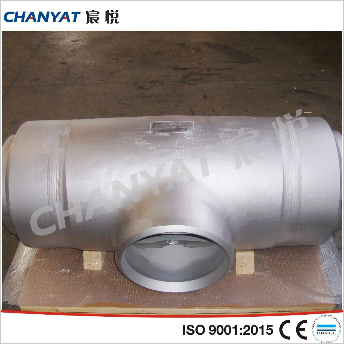 Stainless Steel Pipe Press Fitting Straight Tee